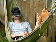 hayden-asleep-hammock