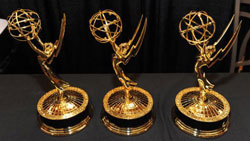 three-emmy-statues